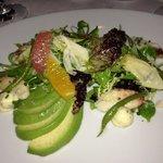 crab salad with avocado - yum!