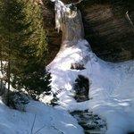 Munising Falls in early April '13