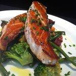 Saumon excellent (brocolis pour le régime!)