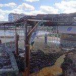 Alte Anlage am Strand