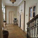couloir d'accès à la chambre