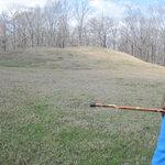 smaller mound