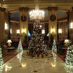 The lobby @ X-mas