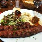 my lamb kebab :)