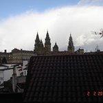 vista da catedral desde o meu quarto
