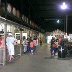 Main hall - wine tasting area