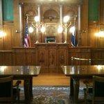 Pioneer Museum Courtroom