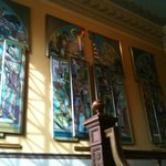 Pioneer Museum, Stained Glass and Architecture, 2nd Floor