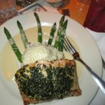 Cheesecake Factory: Herb Crusted Salmon