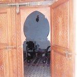 la porte de ma chambre !