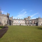 Kilkenny Castle, right across the street