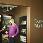 24 hour access to food, beverages and necessities at The Corner Market