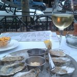 Oysters on the Patio