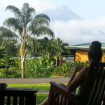 Bungalow outside of Arenal Volcano