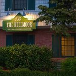 The Bellmoor Sign At Night