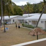View of the seaview bungalows
