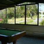 Pool room withe great garden view