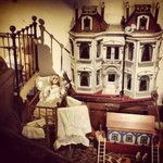 dolls house in the bedroom exhibition