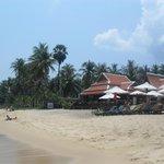 hotel vue de la plage