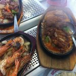Sizzling Spicy Duck
