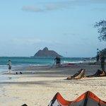 Kite al Kailua Beach Park