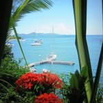 View across to Bequia from Barefoot Suites