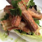 Pork Belly Lunch. Beautiful And Great Value