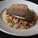 Sea Bream Lunch. With The Nicest Potatoes
