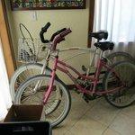 Bikes Provided with Locks