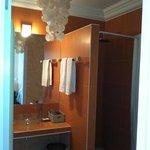 bathroom in room 304