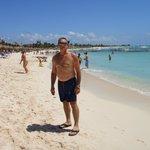 Mi esposo en la Playa