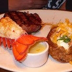 the steak and lobster special