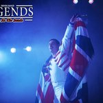 Freddie takes the stage for the closing act at Legends Blackpool.