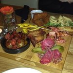 Meat platter as served £15.00