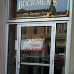 Teddy Buckmen's front door.