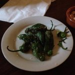 the pardon peppers, watch out for the hot ones!