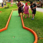 Pitch and Putt.Great for younger Kids.