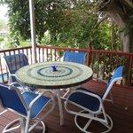 Treetops room deck