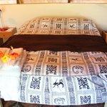 Fiori fresco sul letto ogni giorno