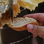 Homemade Honey and bread