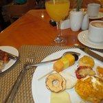 Fabulous breakfast buffet selections