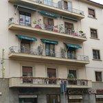 Front of La Residenza dell'Orafo