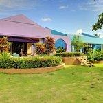 Exteriors of our beachfront villas