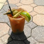 "MM's Bloody Mary..a ""10"""