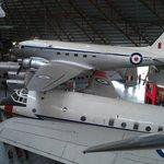 Inside the coldwar hangar.