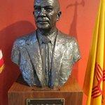 Bust of Bradbury