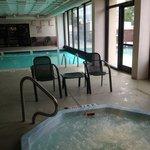 nice indoor/outdoor pool!