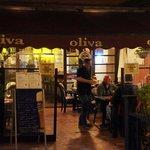 Looking in to Oliva Restaurante