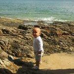 Down from the boardwalk - Noosa Main Beach