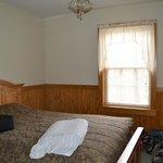 Downstairs bedroom in Chalet 1